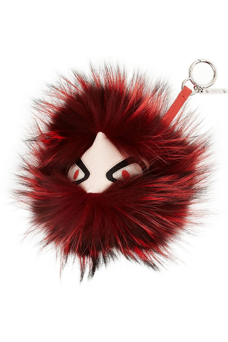 Expensive Keychains | Fur Keychain | Fendi Fur Monster
