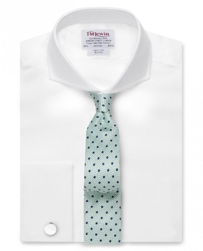 Extreme Cutaway Collar | Cutaway Collar | Straight Collar Dress Shirt