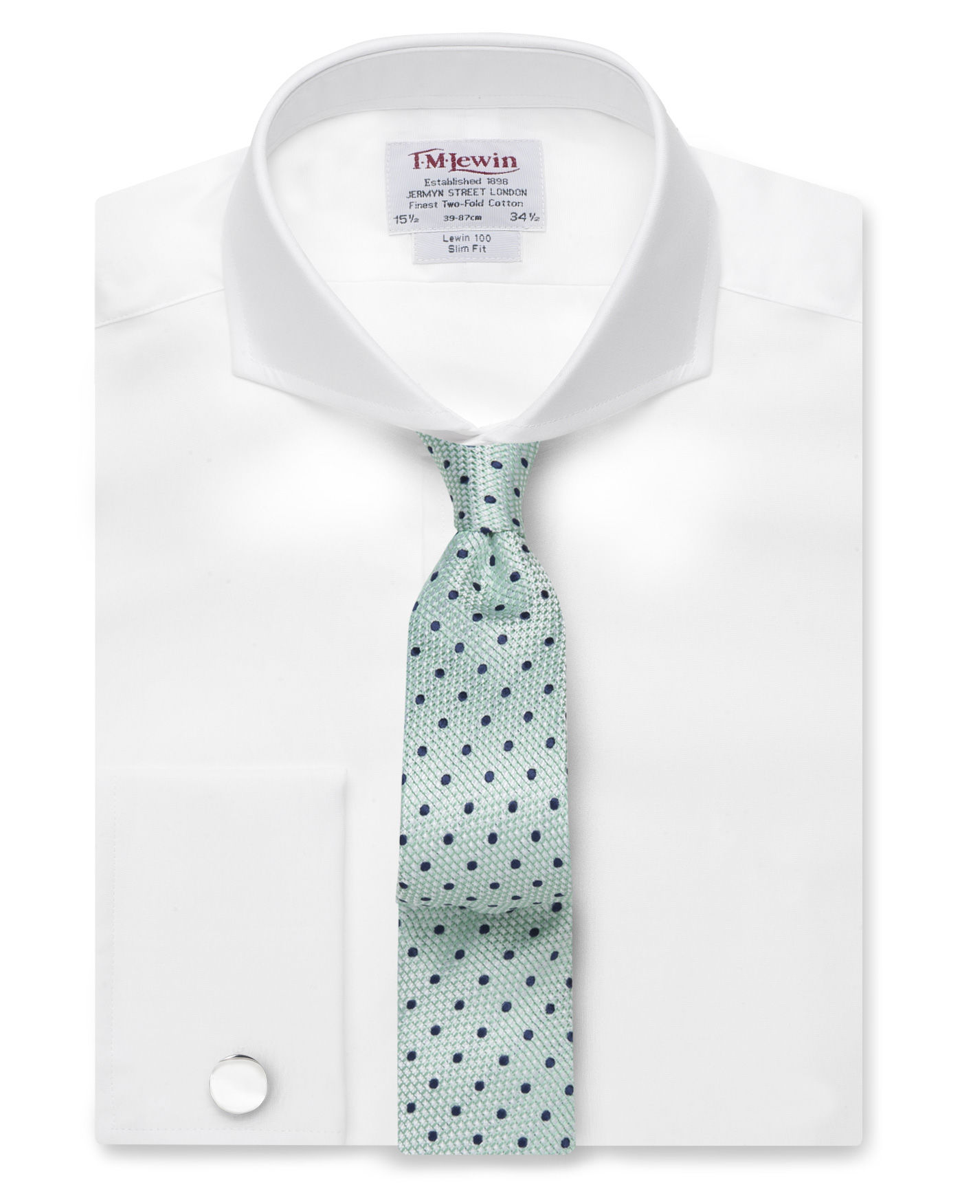 Extreme Cutaway Collar | Cutaway Collar | Straight Collar Dress Shirt