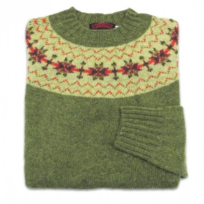Fair Isle Pattern Sweater | Fair Isle Sweater | Fair Isle Men Sweater