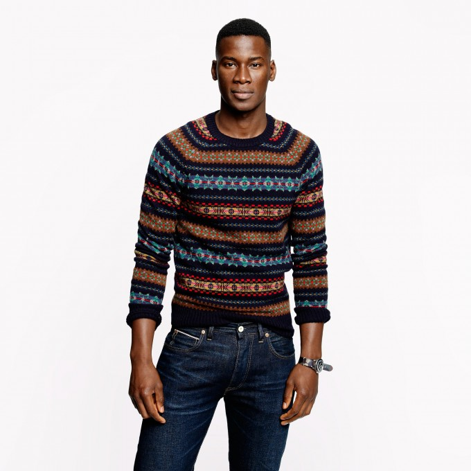 Fair Isle Sweater Boys | Fair Isle Sweater | Fair Isle Tunic Sweater