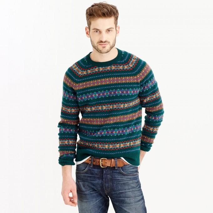 Fair Isle Sweater | Fair Isle Knitwear For Sale | Joie Fair Isle Sweater
