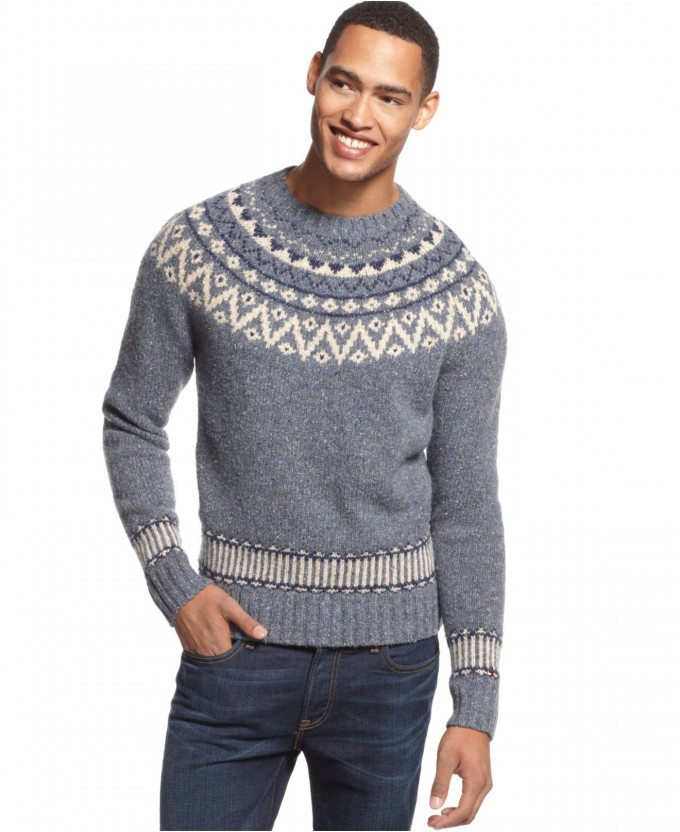 Fair Isle Sweater | Fair Isle Sweater Skirt | Fair Isle Cashmere Sweater
