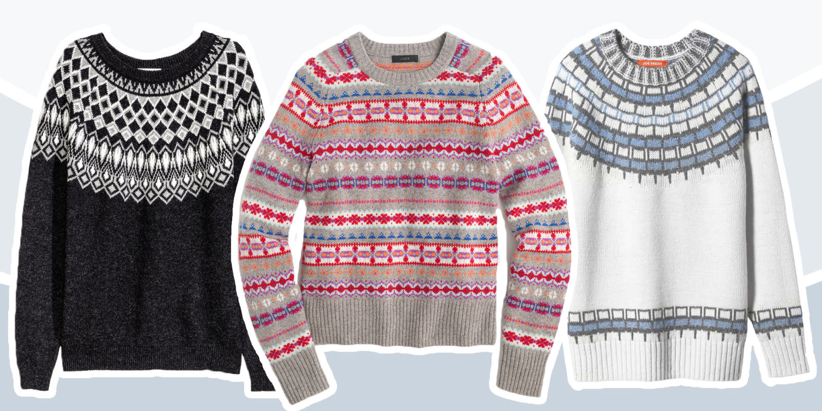 Fair Isle Sweater | Fairisle Sweaters | Fair Isle Yoke Sweater