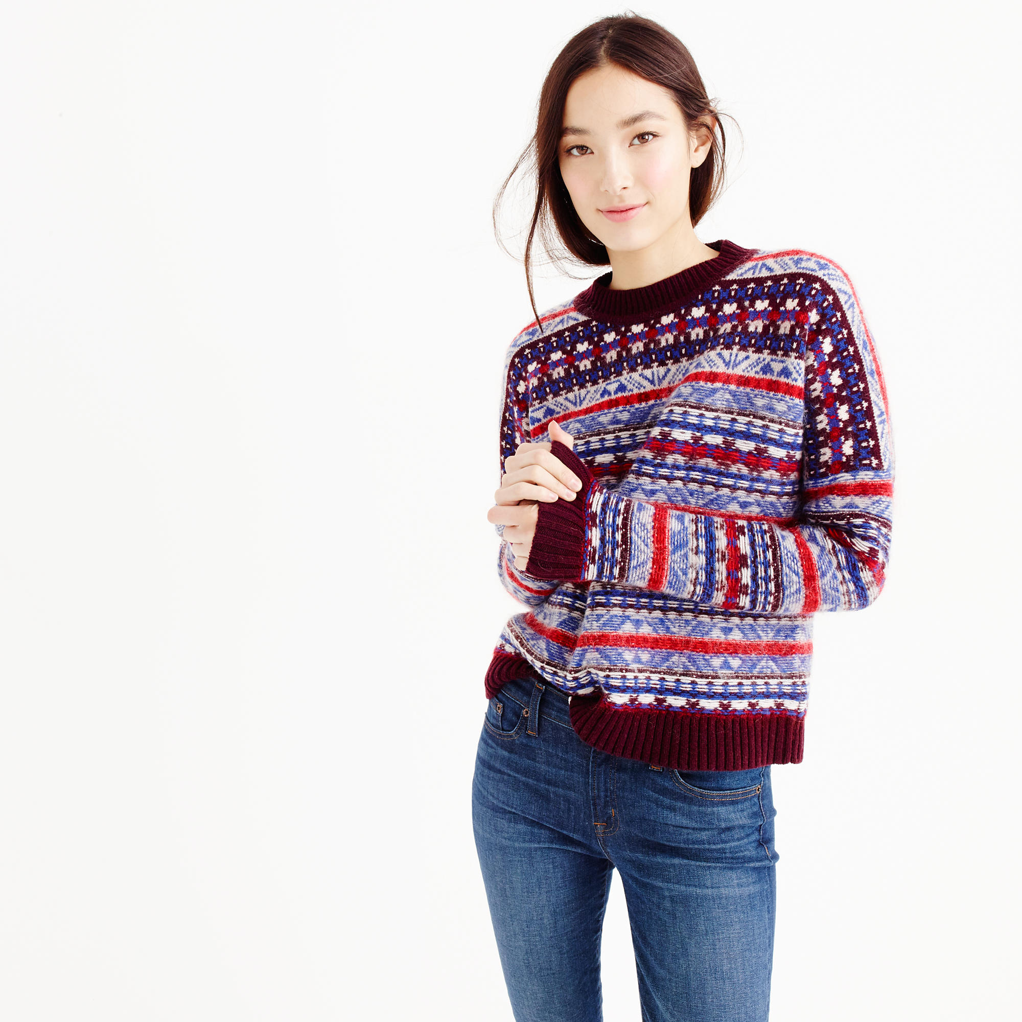 Fair Isle Sweater J Crew | Buy Fair Isle Sweater | Fair Isle Sweater