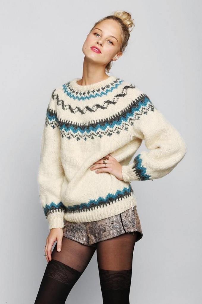 Fair Isle Sweater | Mens Patterned Sweaters | Fair Isle Sweater