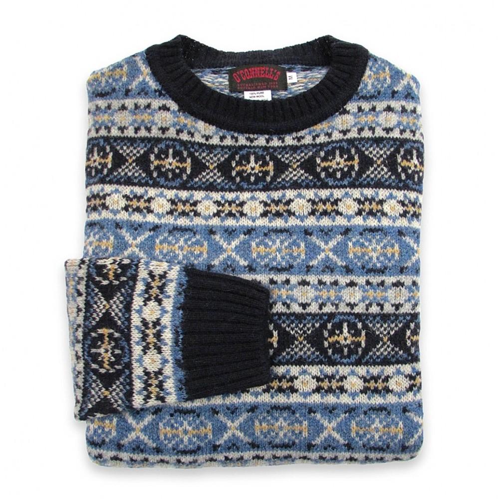 Fair Isle Sweater | Shetland Fair Isle Knitwear | Wool Fair Isle Sweater