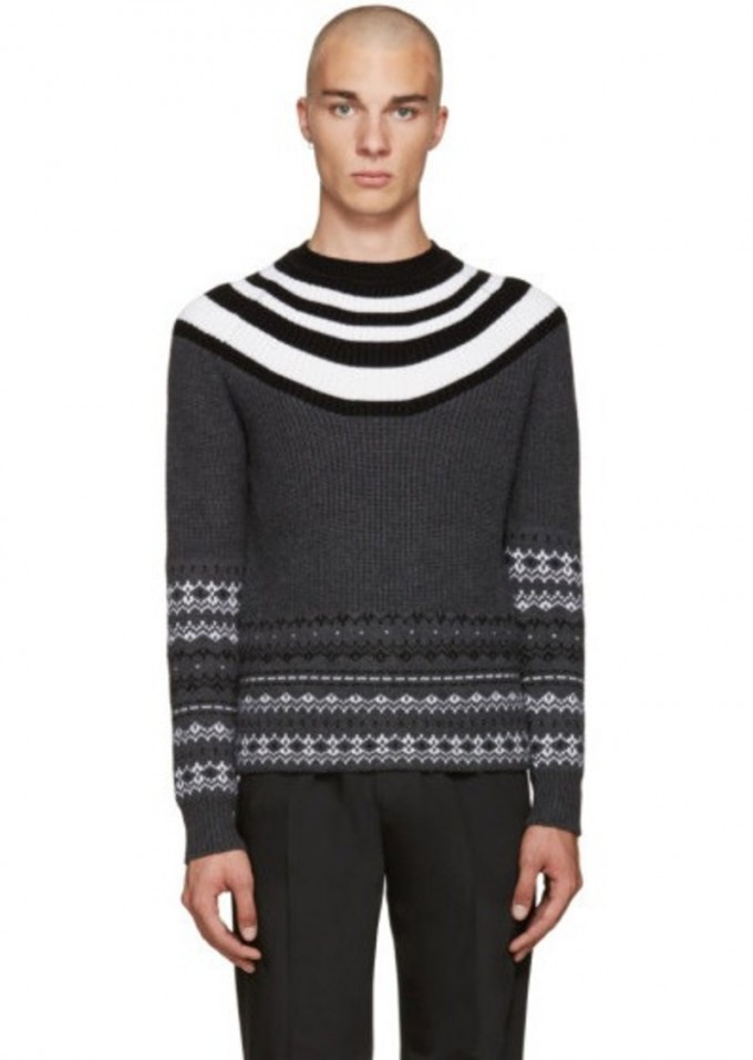 Fair Isle Sweater Vest | Mens Patterned Sweaters | Fair Isle Sweater