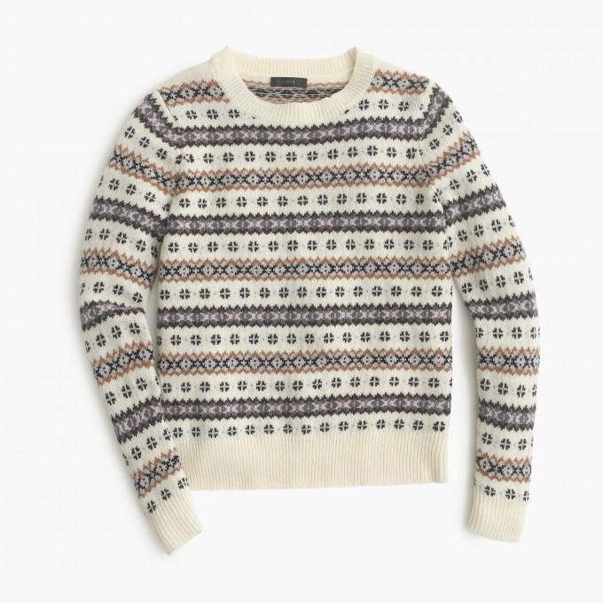 Fair Isle Sweater Womens | Fair Isle Sweater | Fair Isle Sweaters For Women