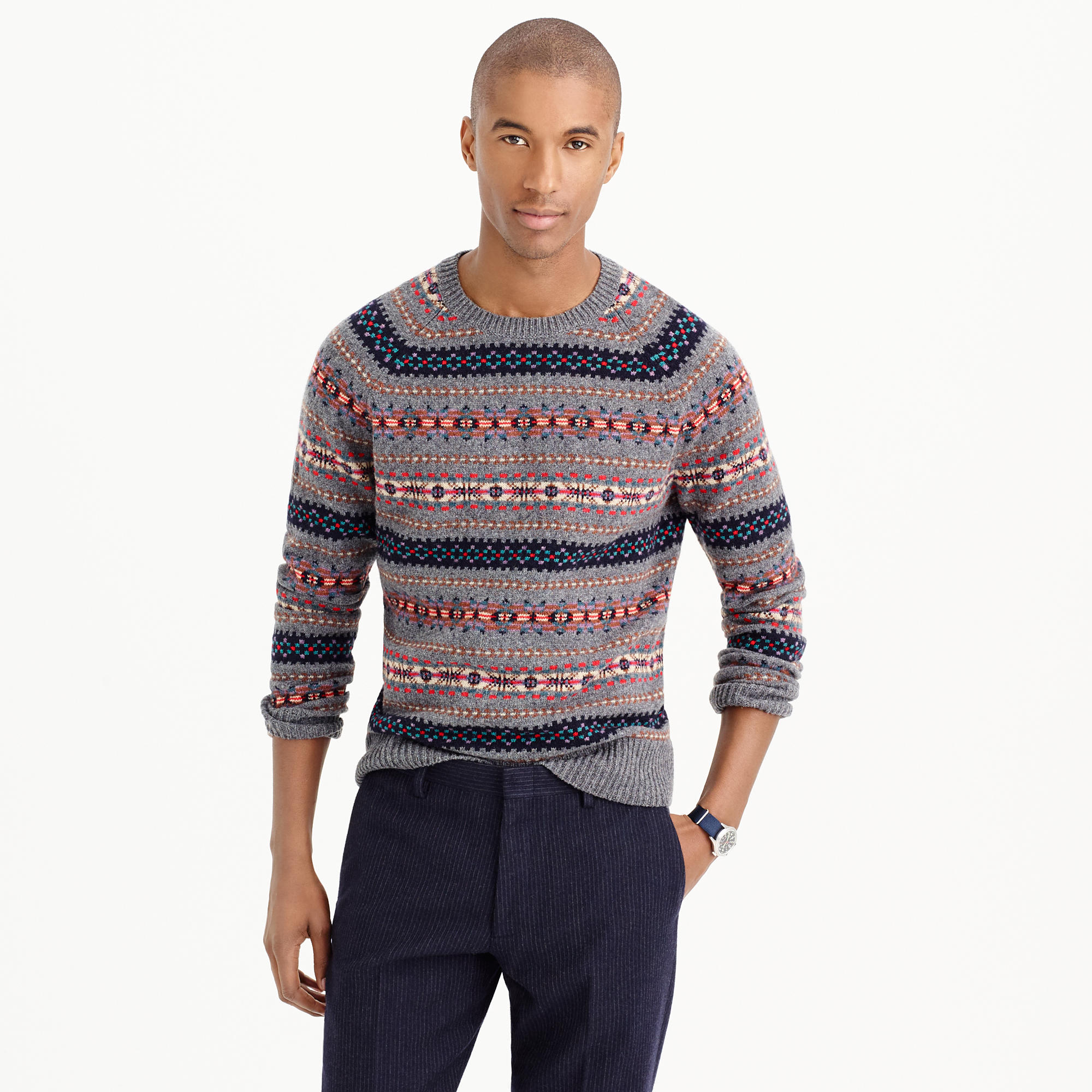 Fair Isle Sweaters Men | Fair Isle Sweater | Fair Aisle Sweater