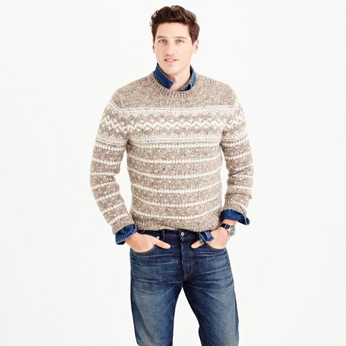 Fair Isles Knitting | Fair Isle Tunic Sweater | Fair Isle Sweater