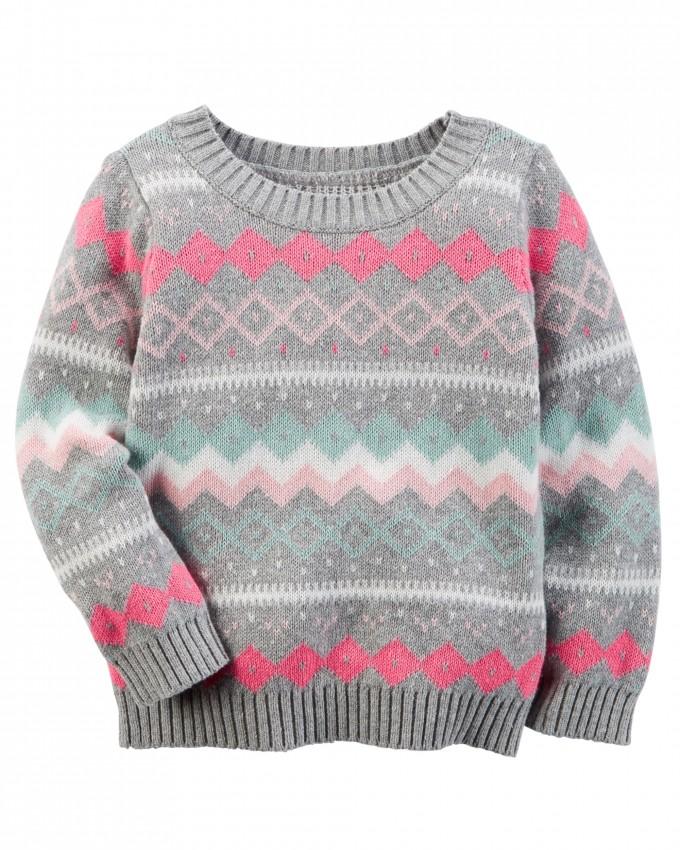 Faire Isle Sweater | Fair Isle Sweater | Toddler Fair Isle Sweaters