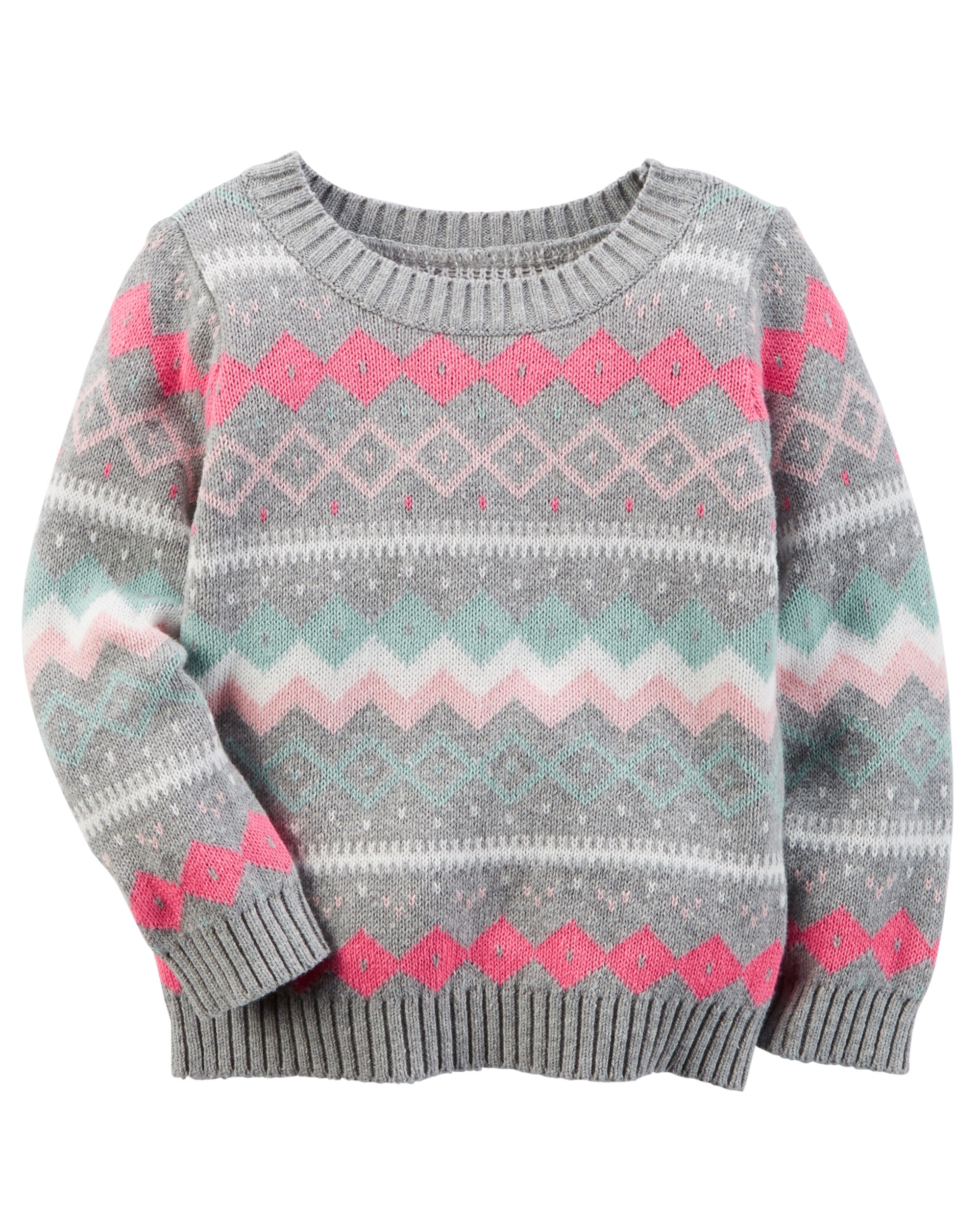 Faire Isle Sweater | Fair Isle Sweater | Toddler Fair Isle Sweaters