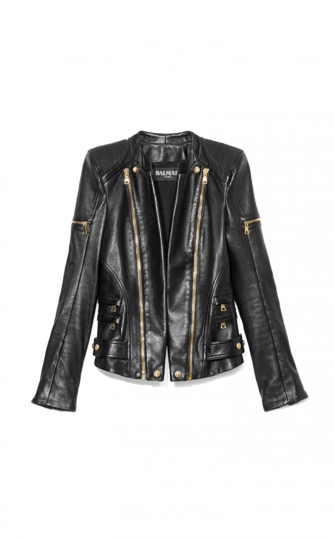 Fake Balmain Jeans | Black Balmains | Balmain Leather Jacket