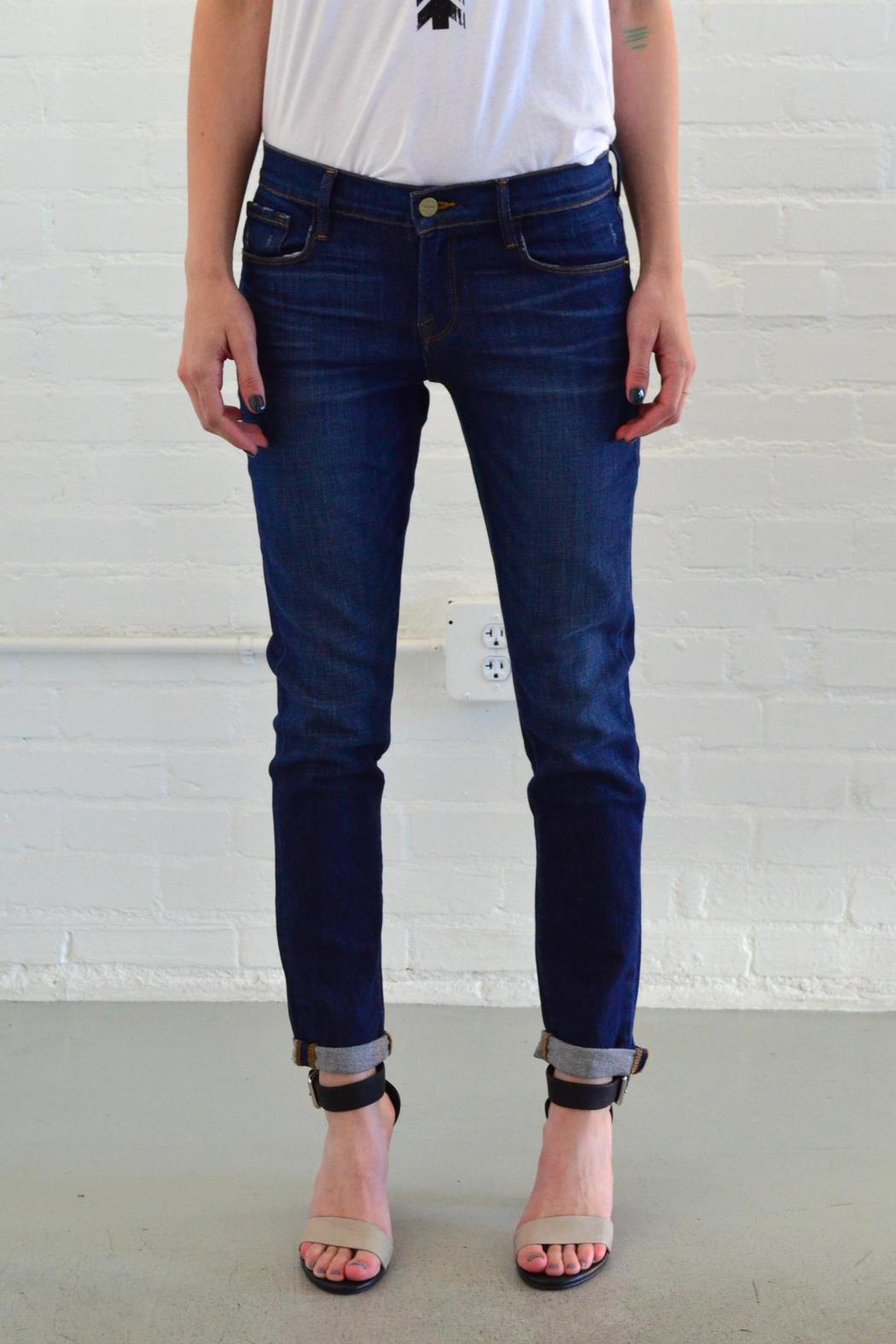 Fancy Frame Denim Le Garcon | Lovable Frame Denim Ripped Jeans Style