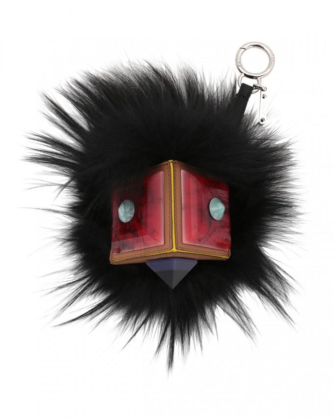 Fendi Bag Buggies | Fendi Fur Ball Keychain | Fendi Fur Monster