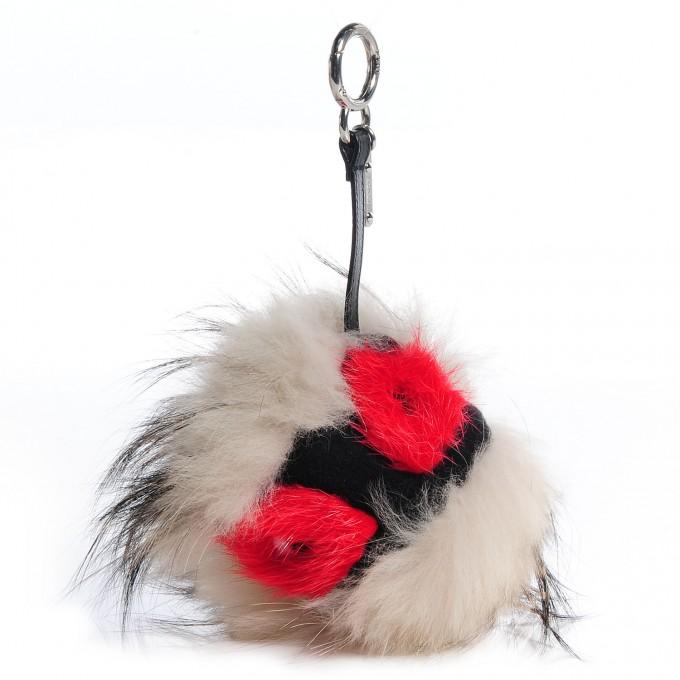 Fendi Charm Bracelet | Fendi Bag Charm | Fendi Fur Monster