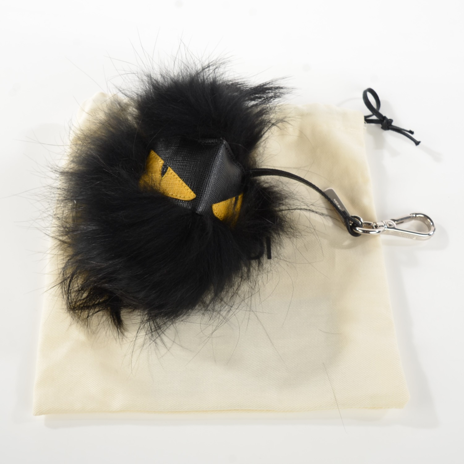 Fendi Fur Ball Keychain | Rabbit Fur Ball Keychain | Fendi Fur Monster