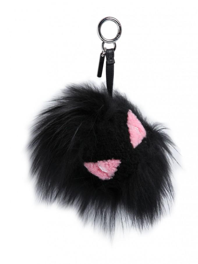 Fendi Fur Purse | Fendi Fur Monster | Fendi Fox Fur Keychain