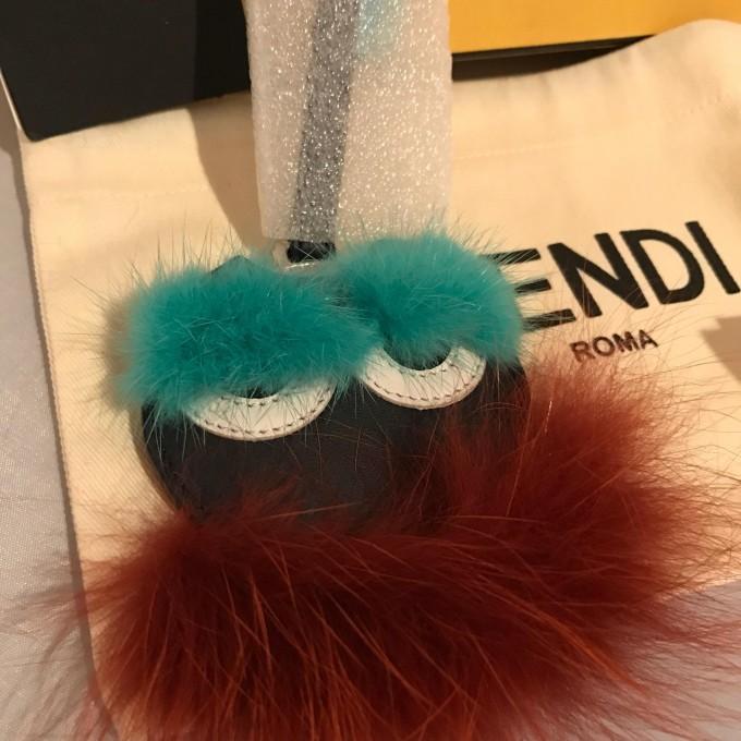 Fendi Letter Charm | Fendi Monster Bag Charm | Fendi Fur Monster