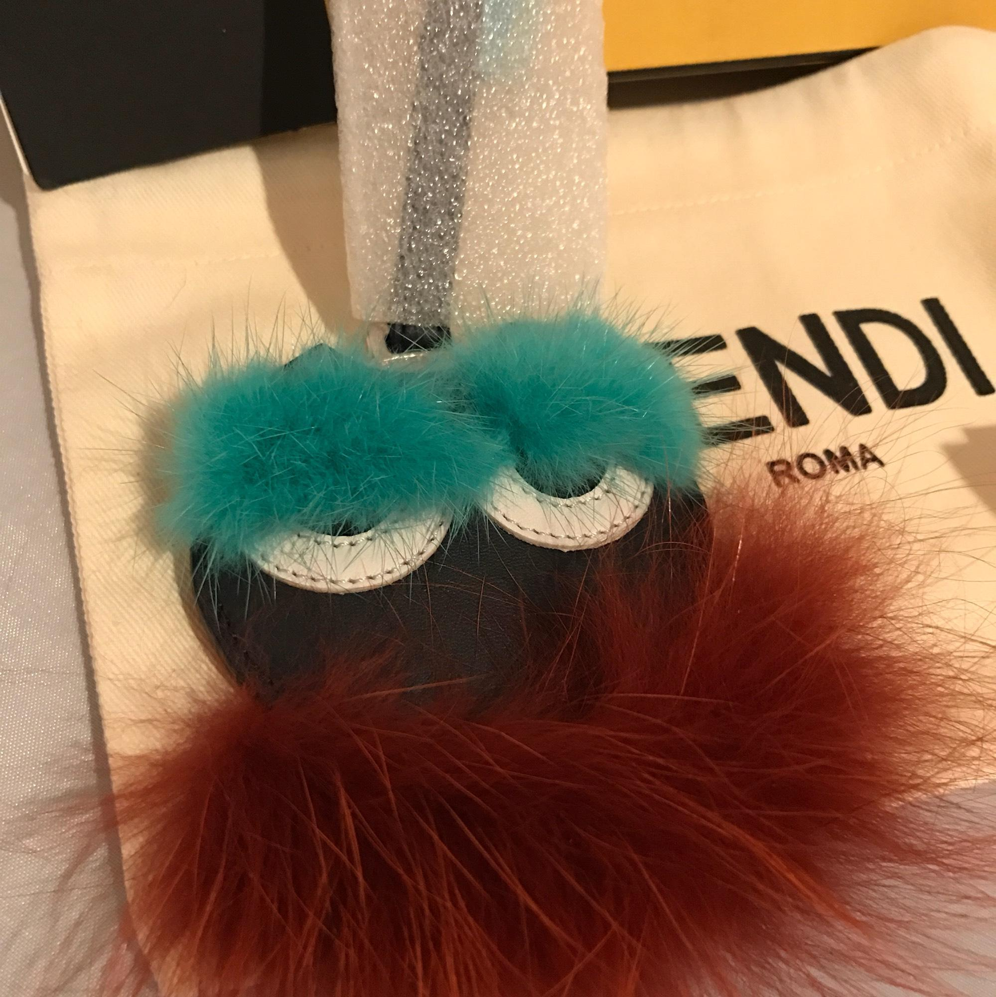 Fendi Letter Charm | Fendi Monster Bag Charm | Fendi Fur Monster