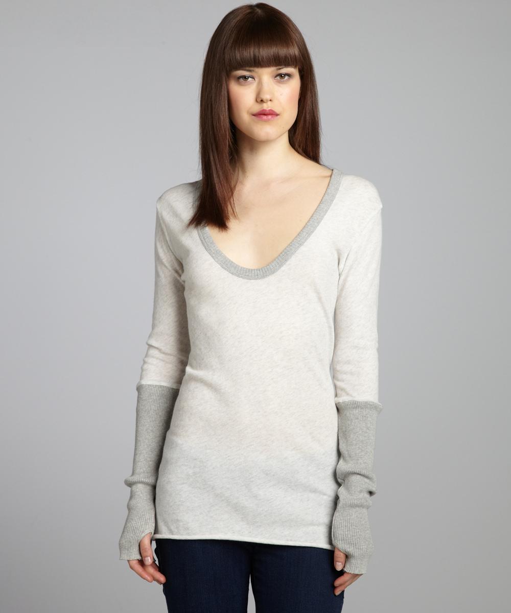 Finger Hole Shirts | Sweaters with Finger Holes | Thumbhole Sweater