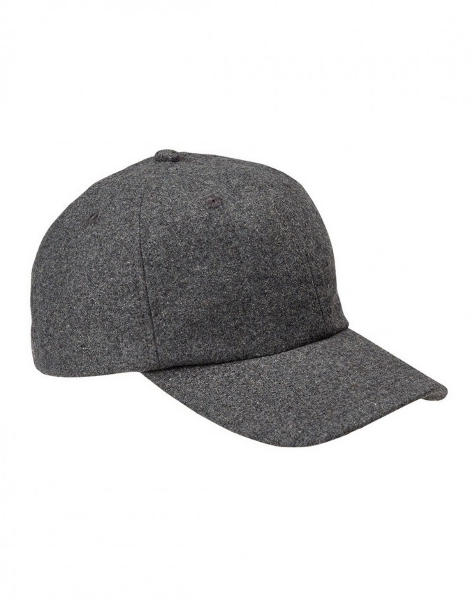 Fitted Wool Baseball Cap | Wool Baseball Cap | Ripped Hats