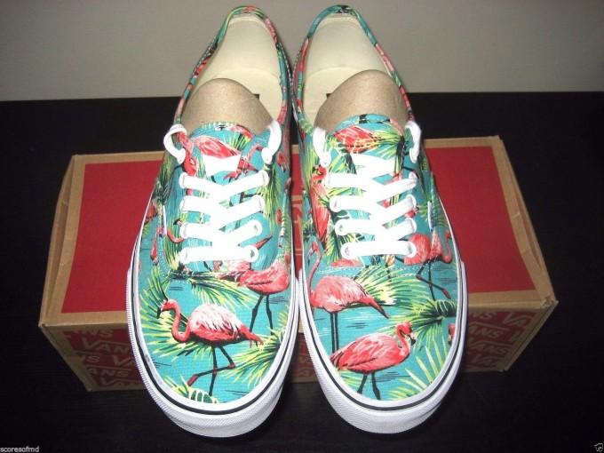 Flamingo Vans | Maroon Vans Shoes | Vand Shoes