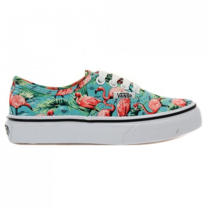 Flamingo Vans   Vans Velcro Shoes   Vans Hawaiian Print Shoes