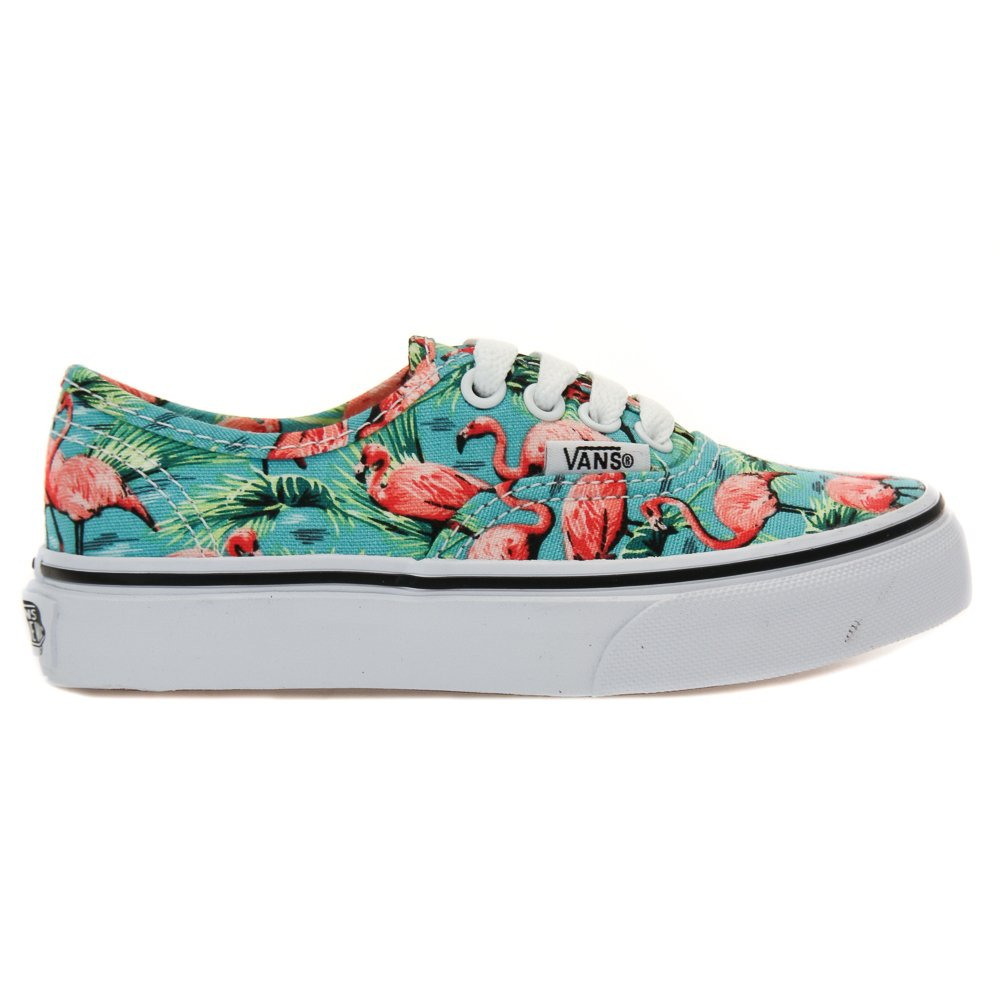 Flamingo Vans | Vans Velcro Shoes | Vans Hawaiian Print Shoes