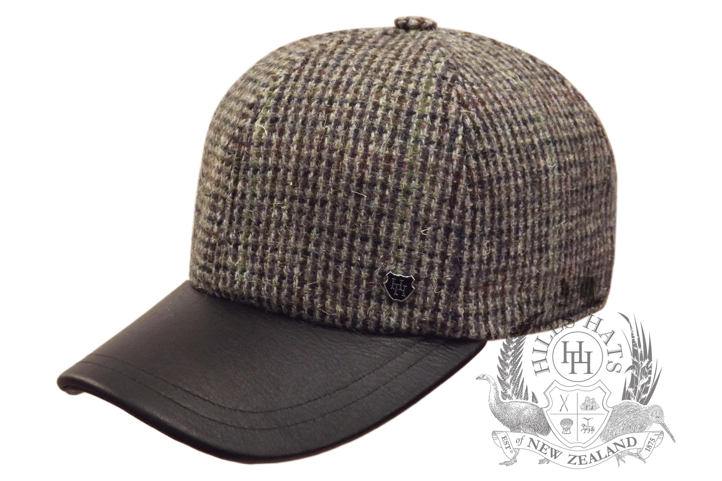Flannel Baseball Cap | Baseball Strapback Hats | Wool Baseball Cap