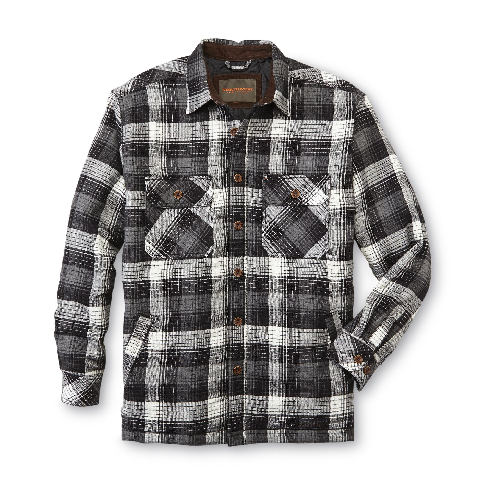 Flannel Jackets | Flannel Hoodie Mens | Quilted Flannel Shirt