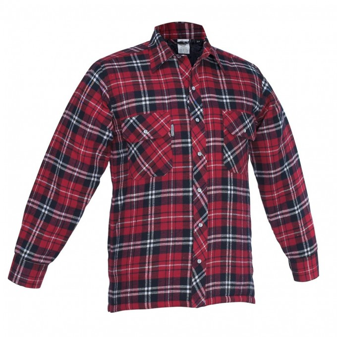 Flannel Lined Denim Shirt | Quilted Flannel Shirt | Quilted Flannel Shirt