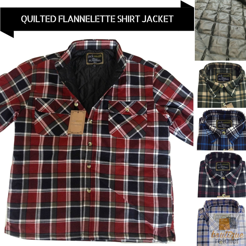 Flannel Quilted Shirt | Solid Color Flannel Shirts | Quilted Flannel Shirt