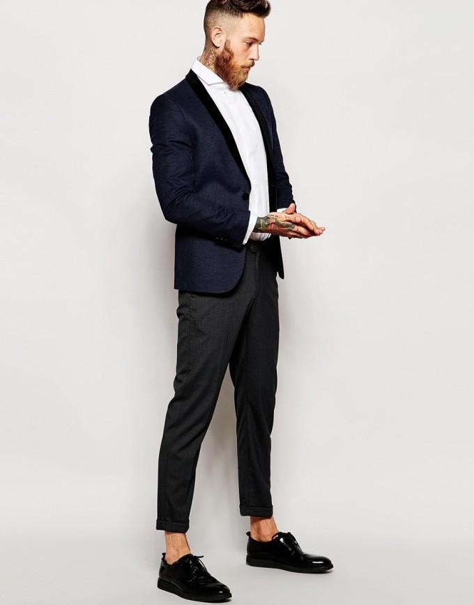 Flat Collar Dress Shirt | Collared Shirt Mens | Cutaway Collar