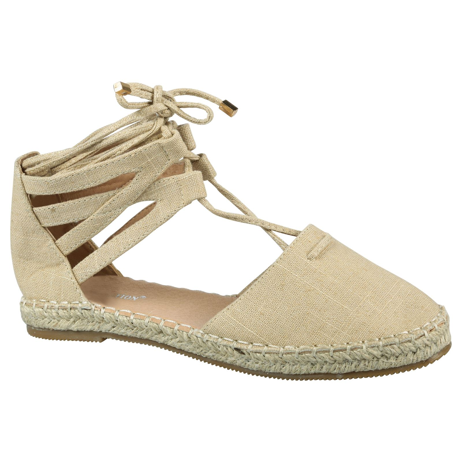 Flatform Sandals Cheap | Lace Up Espadrille Flats | Espadrilles Tie Up
