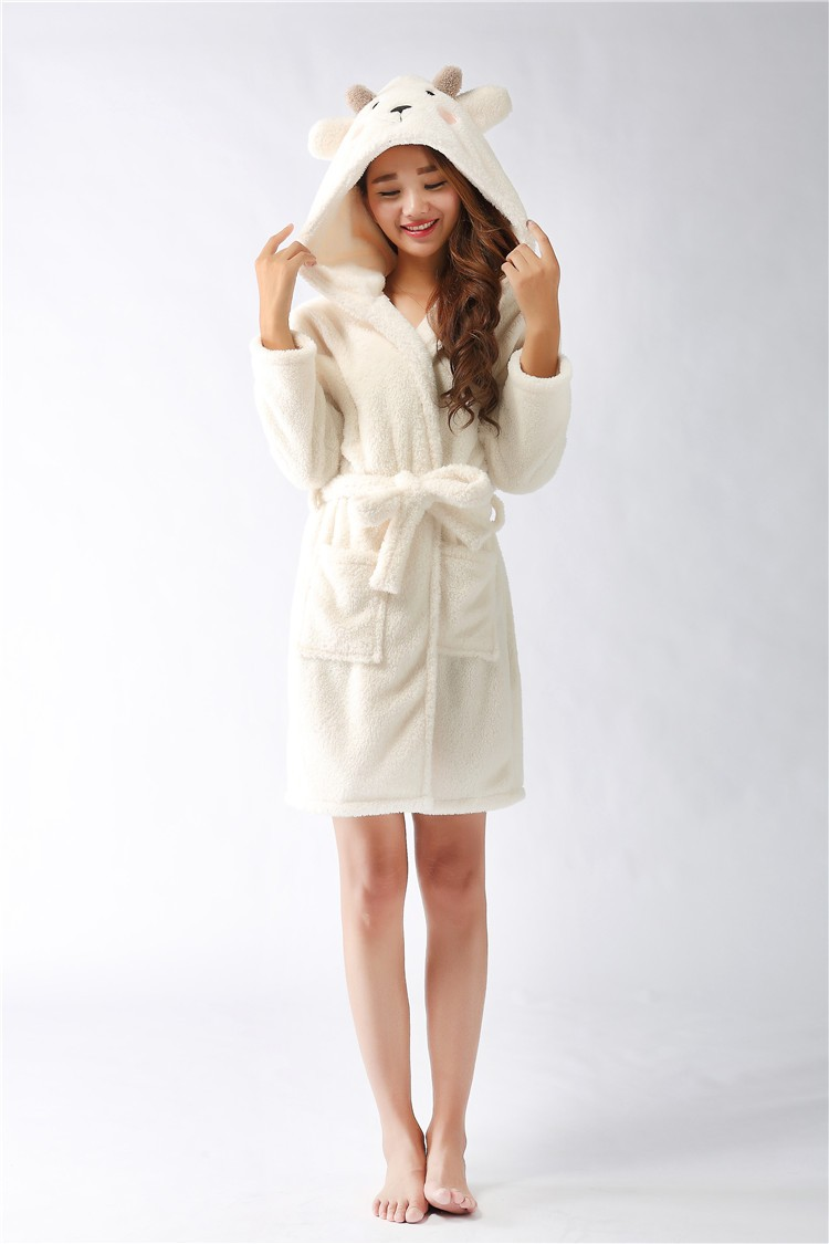 Floor Length Robes | Plush Bathrobes | Zipper Robe