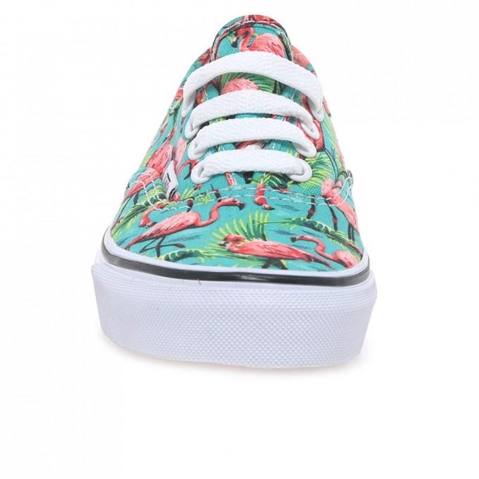 Floral Vans Mens | Vans Old Skool Velcro | Flamingo Vans