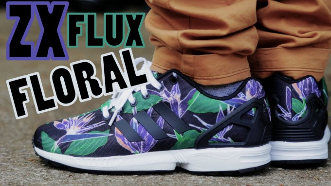 Flux Shoes | Zx Flux Floral | Adidas Reflective Shoes