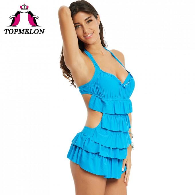 Frilly Swimsuit   Bathing Suits For Juniors   Ruffle Bikini Bottom