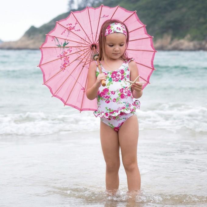 Frilly Swimsuit | Juniors Bikinis | Crochet Bathing Suit