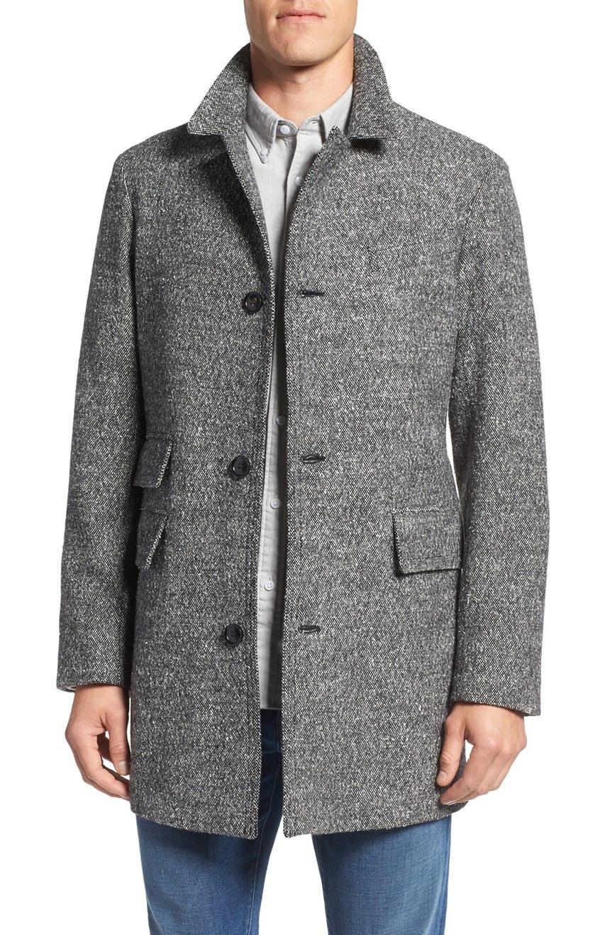 Full Length Mens Overcoat | Tan Trench Coat Mens | Mens Overcoats