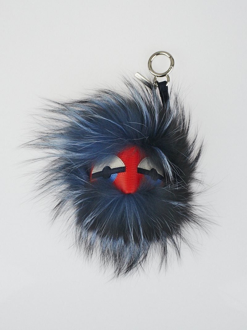 Fur Keychains | Fendi Fur Monster | Fendi Monster Keychain