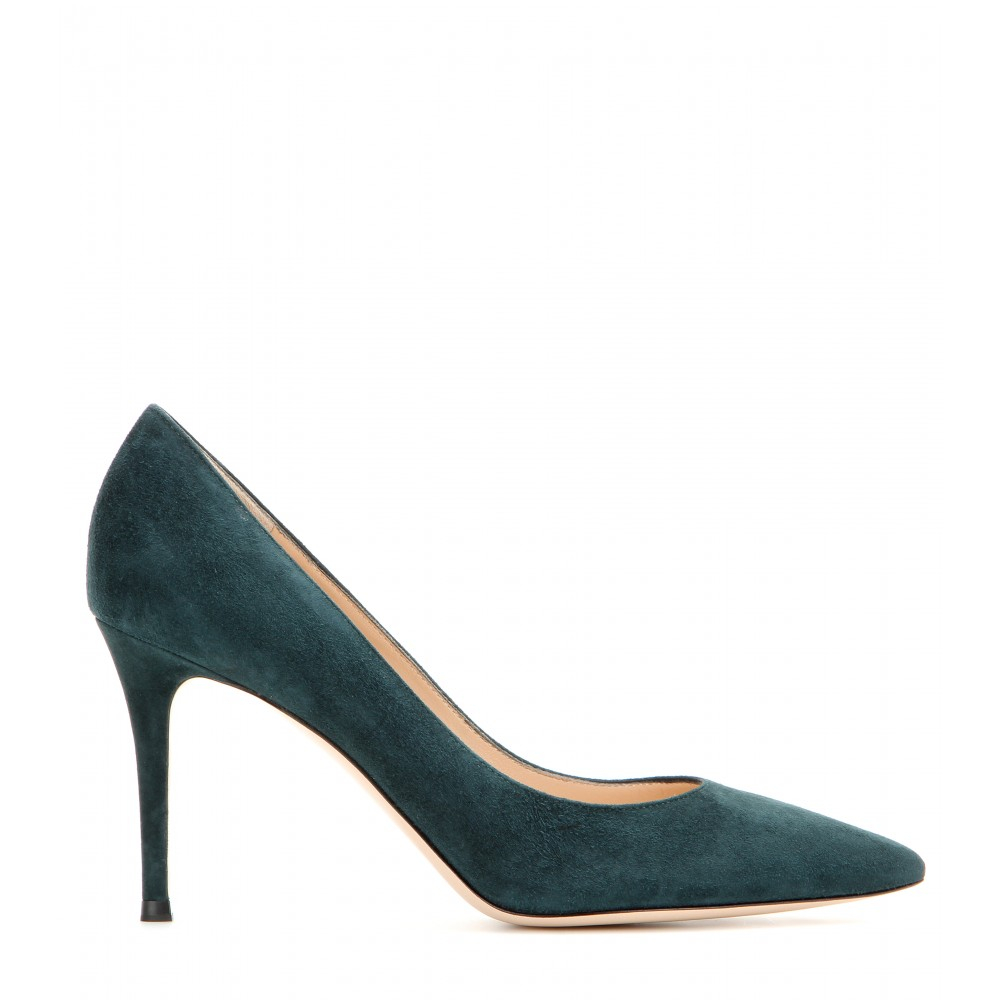 Gianvito Rossi New York | Gianvito Rossi Suede Pumps | Gianvito Rossi Pump
