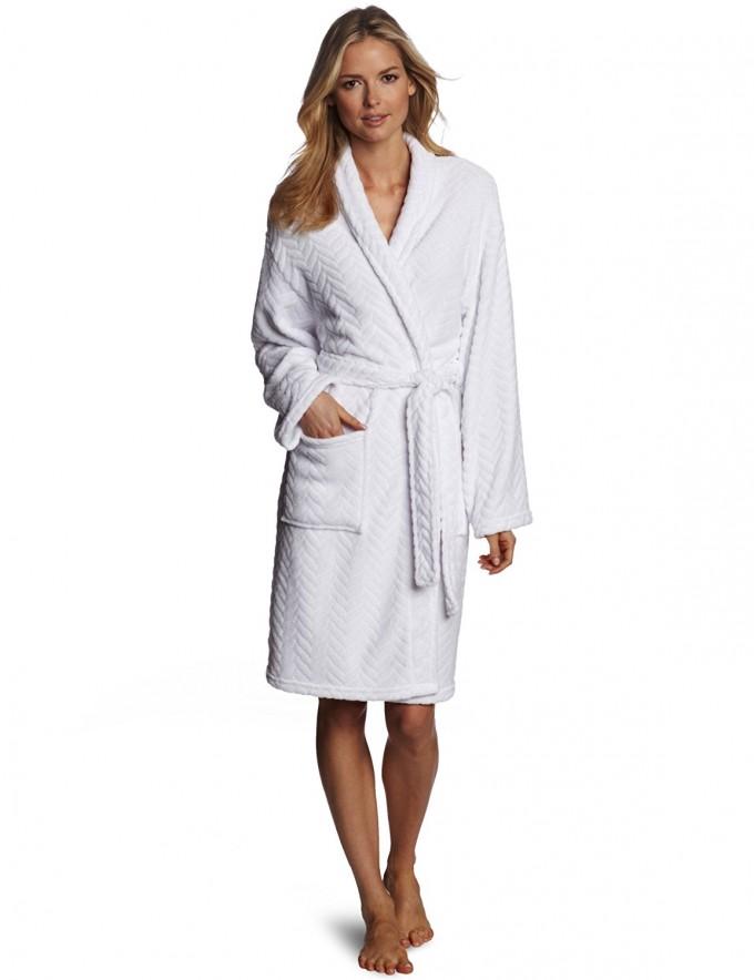 Girls Plush Bathrobe | Womens Full Length Robe | Plush Bathrobes