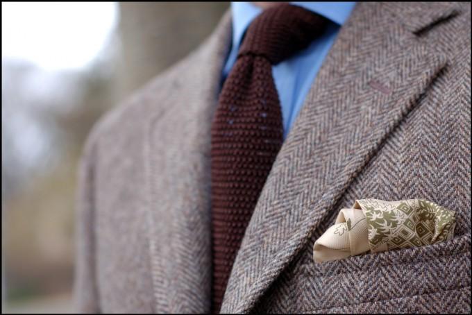 Gray Knit Tie   Knit Necktie   Knit Ties