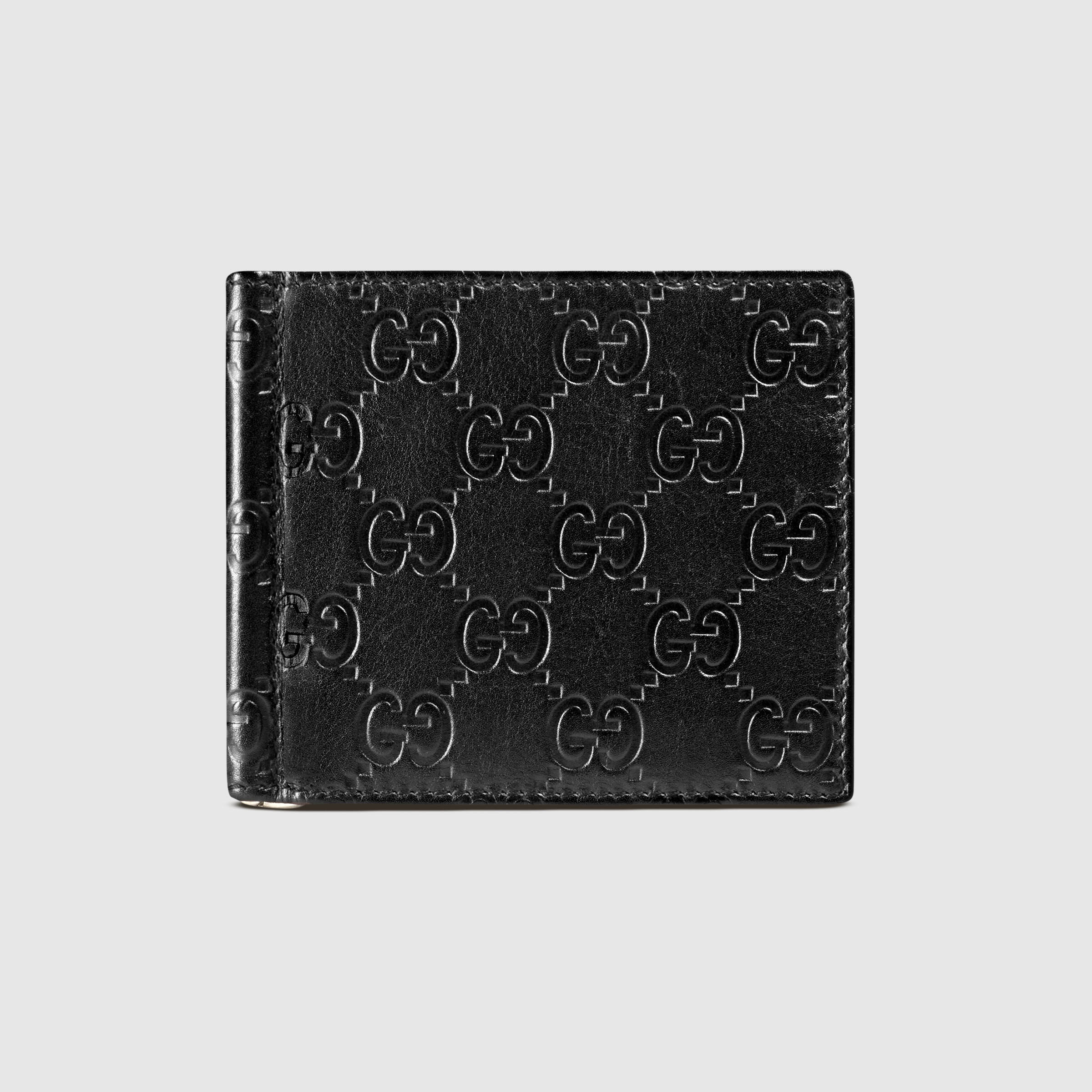 Gucci Money Clip | Designer Mens Wallets with Coin Pocket | Bifold with Money Clip