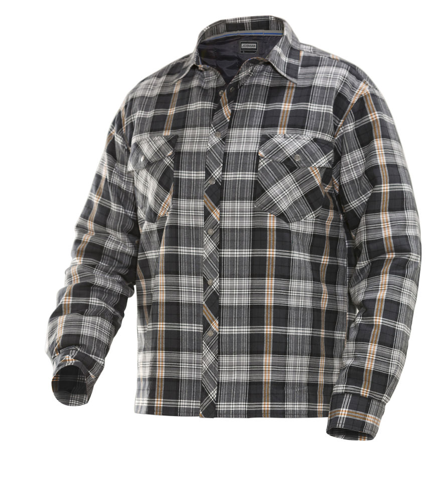 Guy Flannels | Men's Quilted Flannel Shirt | Quilted Flannel Shirt