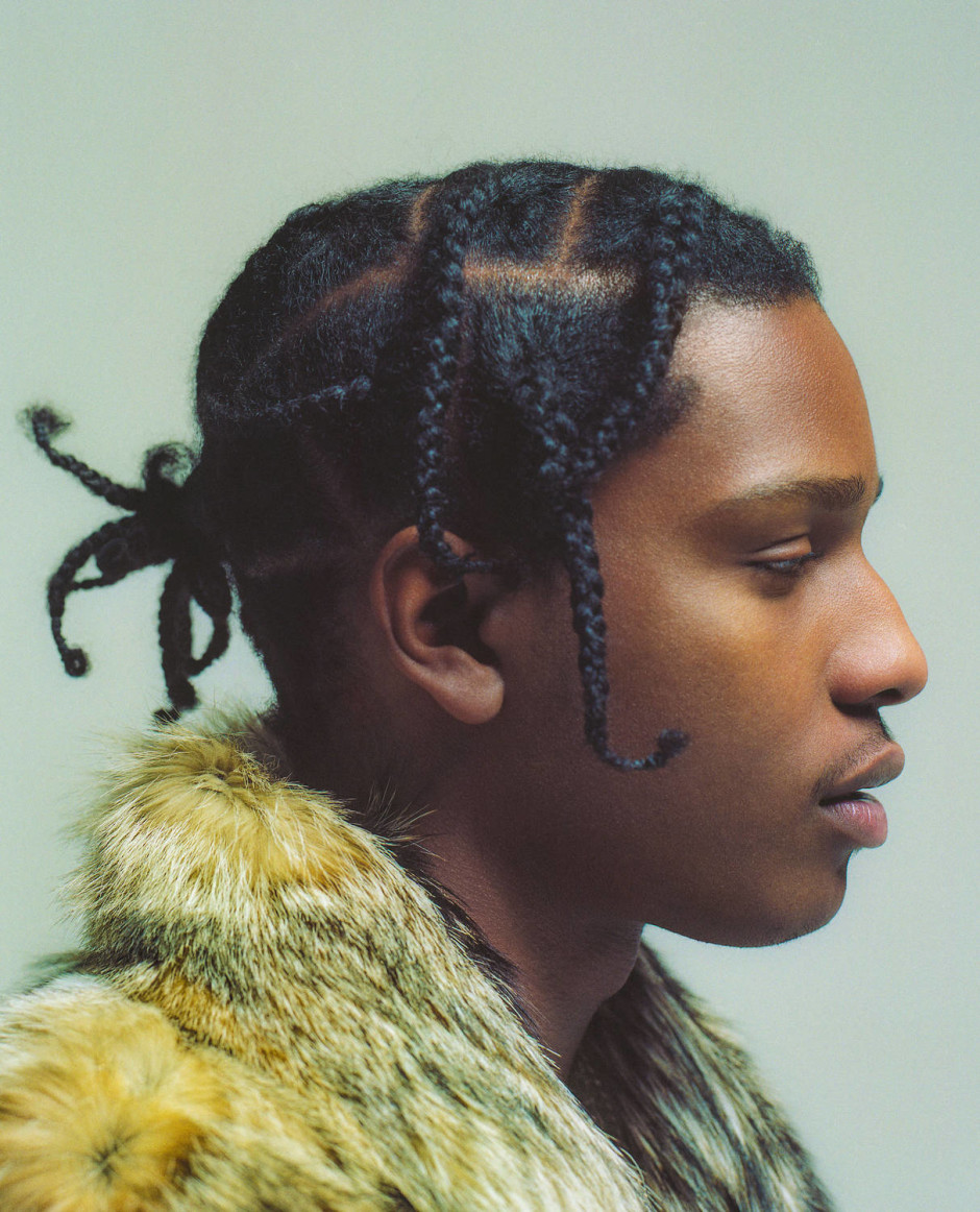 Hair Cornrow Styles | Men French Braids | Asap Rocky Braids