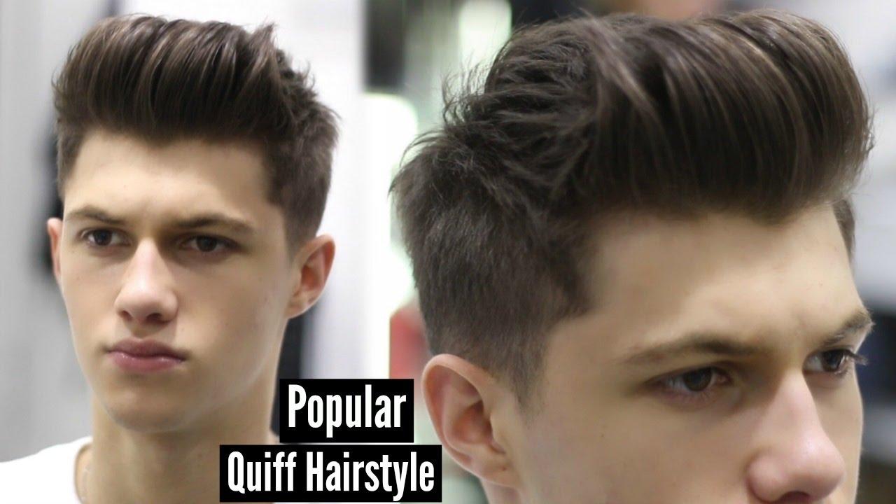 Hair Products for Quiff | Short Pompadour | Mens Quiff